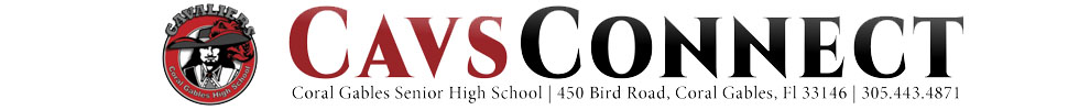 The student news site of Coral Gables Senior High School
