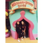 Sophomores Gabriella Alzola and Hanna Reyes remembering their childhood memories at Islands Of Adventure.
