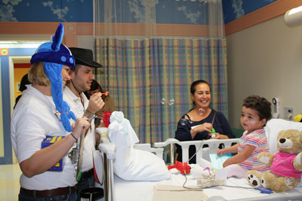 Community Service at Miami Children's Hospital
