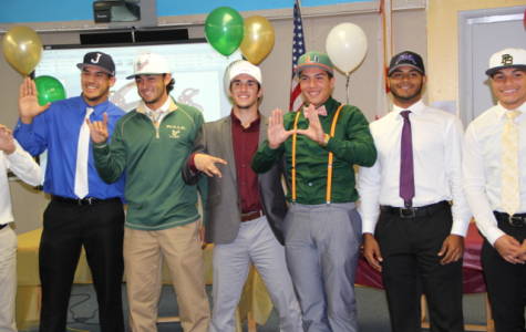 Senior Baseball Players Sign with Colleges