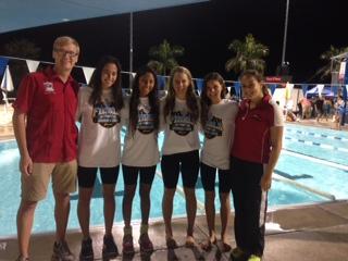 Girls Swimming Team Takes States