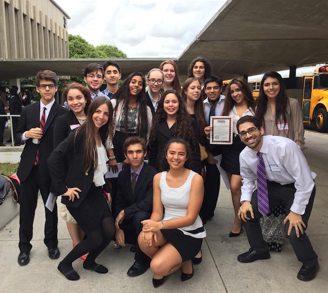 Gables' Model UN Goes to Miami-Dade