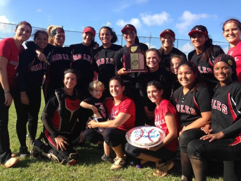 Gables Softball Wins Districts For Second Year in a Row!