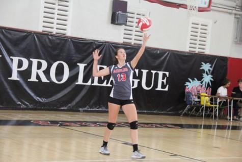 Gables VS Miami High Girls Volleyball
