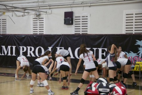 Coral Gables Vs. Miami High Girls Volleyball