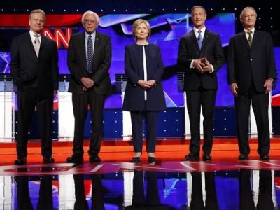 Primer debate del partido Demócrata