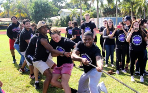 CAF&DM Students Bond at Field Day