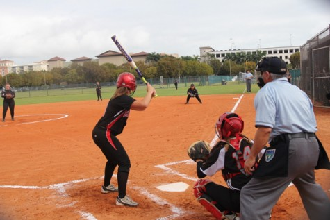 Lady Cavaliers Softball Team Strike Against Southridge