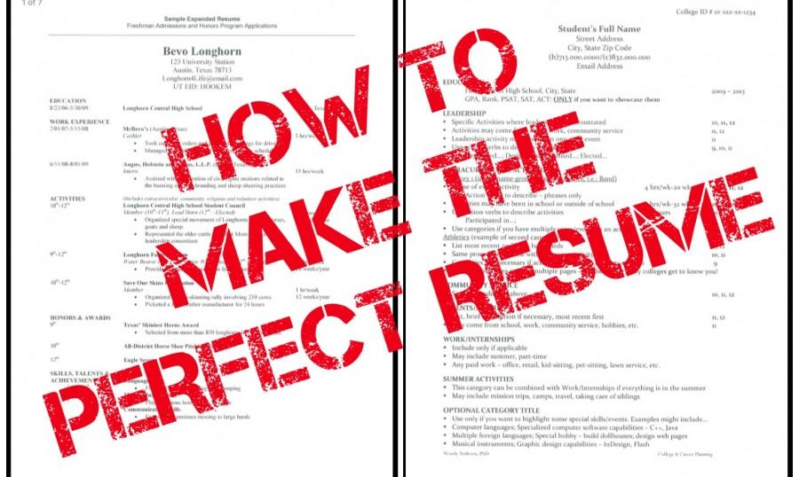 how to build the perfect resume aresumeisnothingmorethanalittle