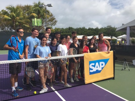 Students Visit the Miami Open