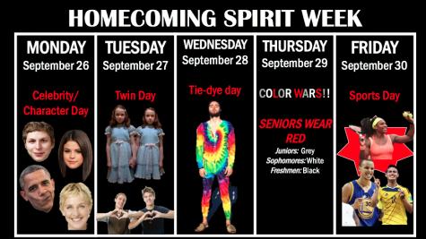 Semana del espíritu escolar en Gables