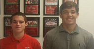 Athletes of the Week: Cavan Wilson and Benito Saldivar