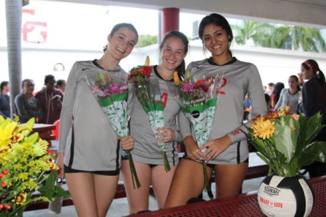 Girls Volleyball Senior Night Extravagant