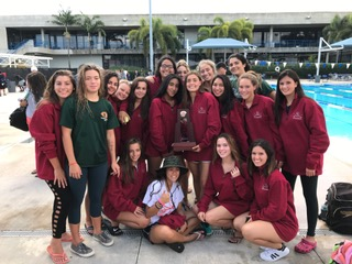 Girls' Swimming Brings Home Another Trophy