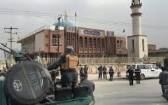 Kabul Mosque Bombing by Suicide Attacker