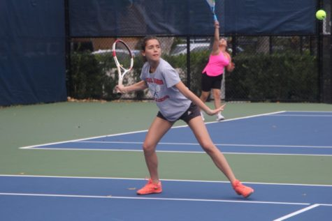 Cavaliers Take on Hialeah Thoroughbreds in Tennis Match