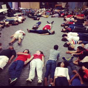 Gables Players learn to