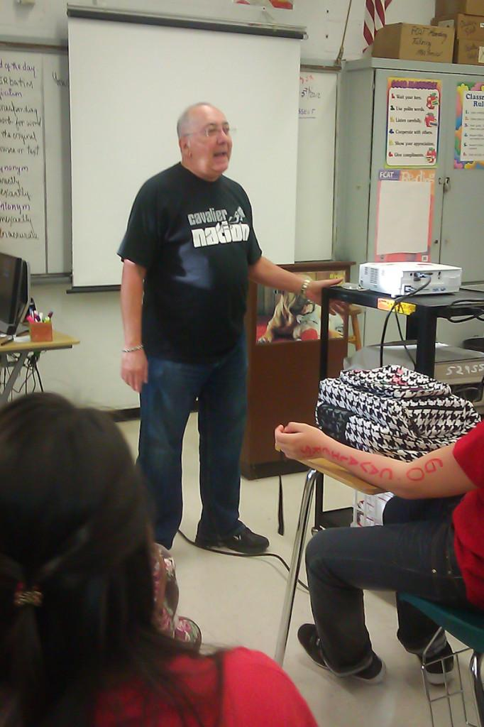 Mr. Termes nos habla