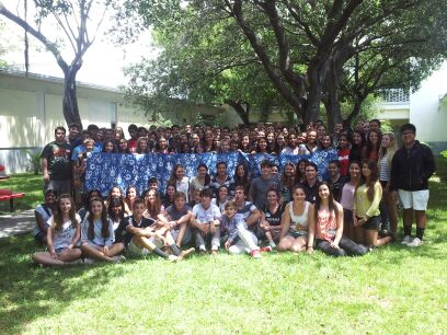 Annual Camp Welcomes Incoming IB Freshmen