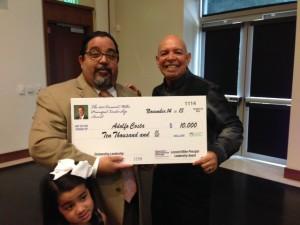 Mr. Costa Wins the Leonard Miller Principal Leadership Award
