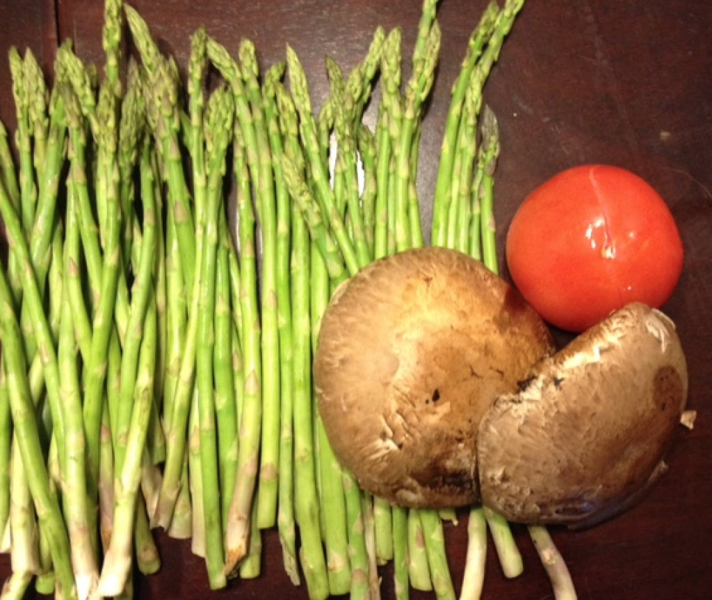 Tomato's, Asparagus, and Mushroom's are healthy foods known to help increase your metabolism