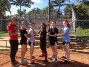 Preseason Softball