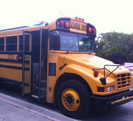 Buses are extremely important for students to be able to go to school and back home.