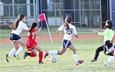 Gables' varsity girls soccer team at their best.