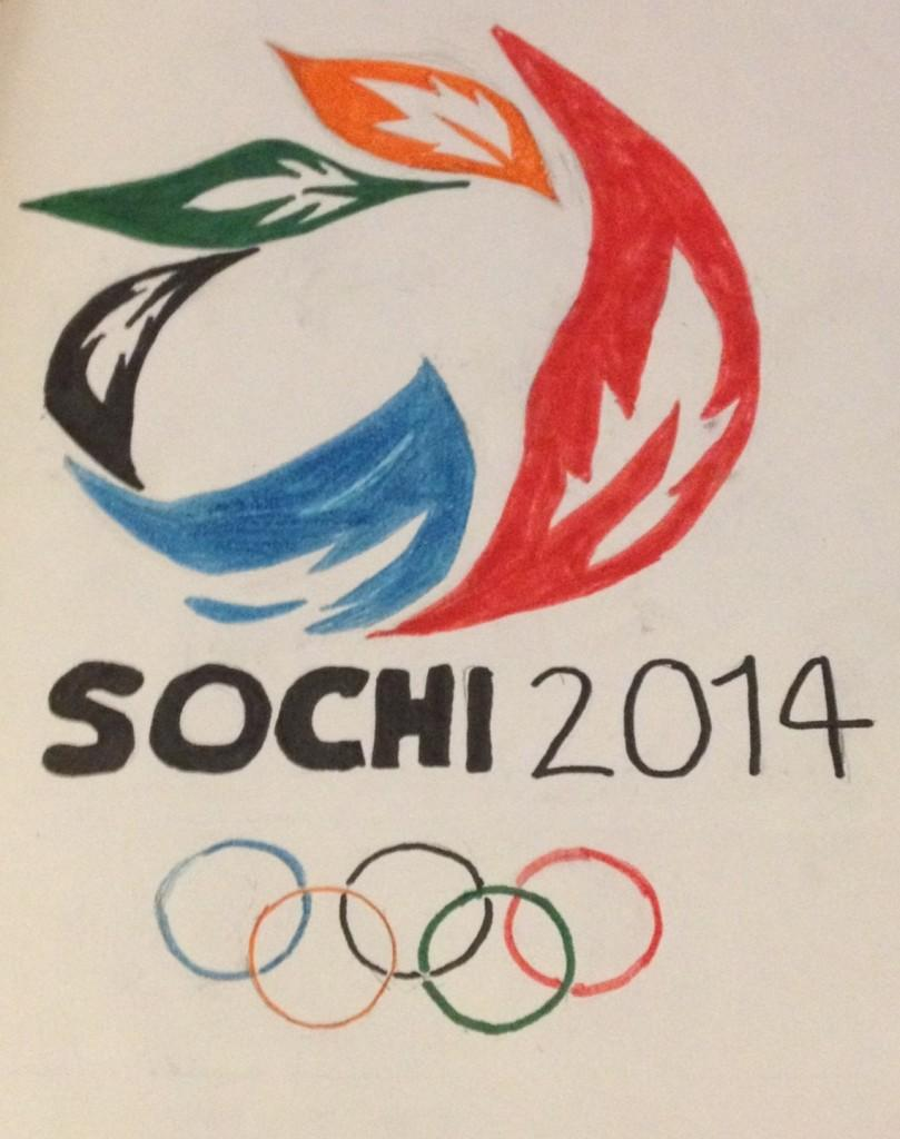 The 2014 Sochi Winter Olympics logo