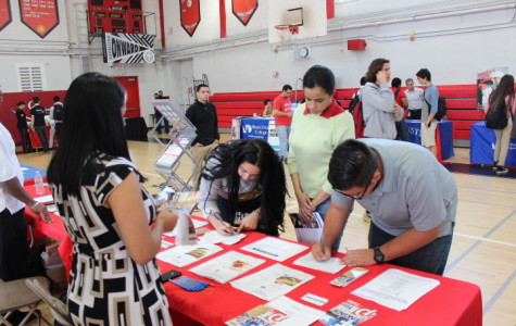 Career Fair: a day where students learn more about their career interests.