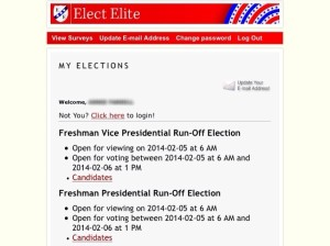 Sophomore Election Runoff