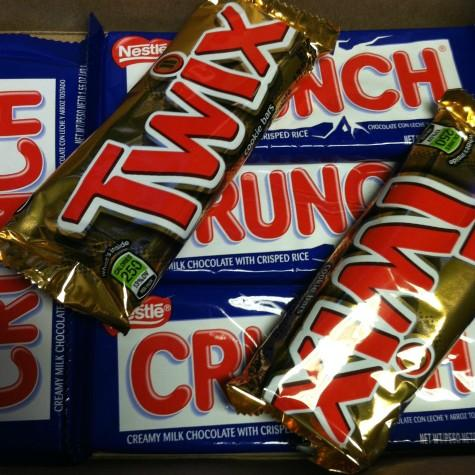 Twix and Crunch means munch, munch, munch! These chocolate bars aren't as unhealthy as you may think.