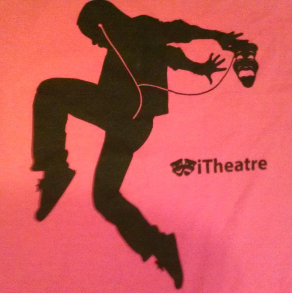 The theme this year was iTheater. This was the design for the t-shirts that all thespians received.