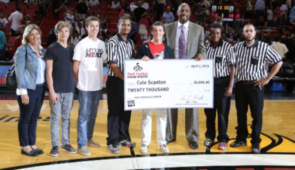 Foot Locker $20,000 Academic Scholarship!