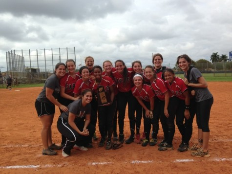 Congratulations Gables Softball in becoming District Champions!