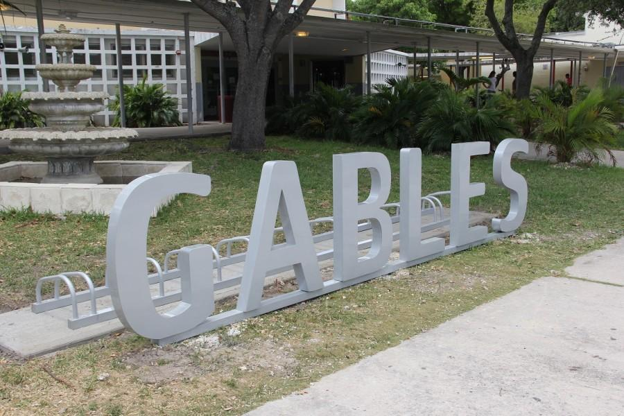 Students now have a place to put their bikes on campus thanks to Gables Earth.