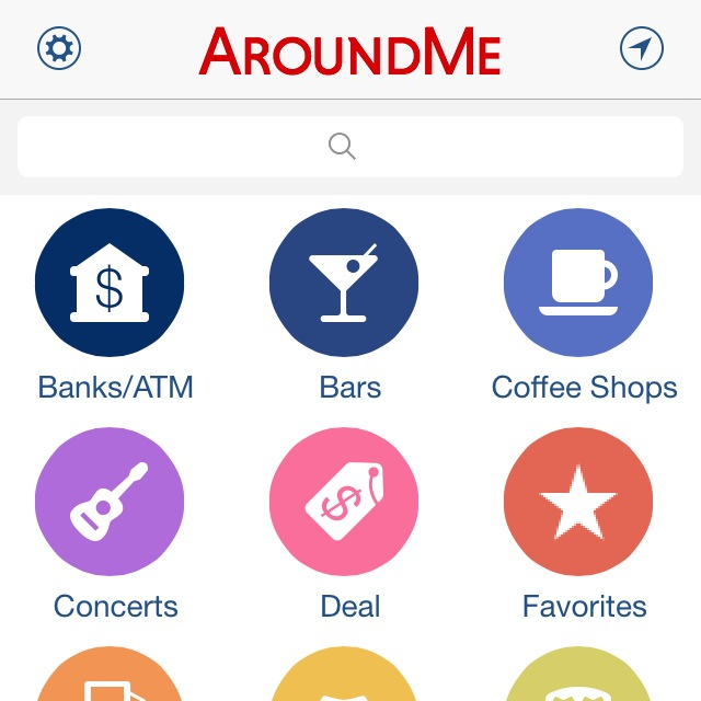 With the app AroundMe, feel free to roam with all the info you might need at your fingertips.