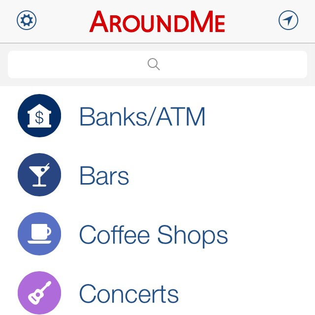 With the app AroundMe, feel free to roam with pleasure with all the info you might need at your fingertips.