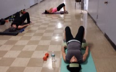 Coral Gables teachers working out after school.