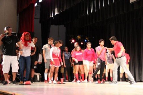 Join the spirited cavaliers on stage at the next pep rally!