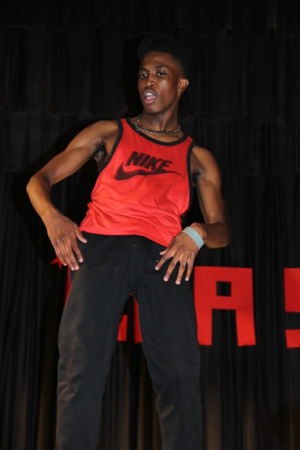 Melvin Taylor, Cav Crash talent winner, impressed everyone in attendance with his unique dance moves.