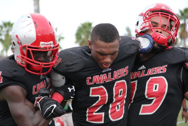 Cavaliers Crush the Coral Reef Barracudas