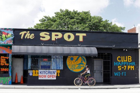 The City of Miami is investigating possible code violations at The Spot.