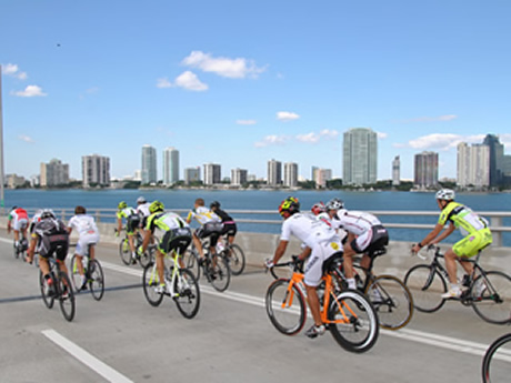 Biking in the 305