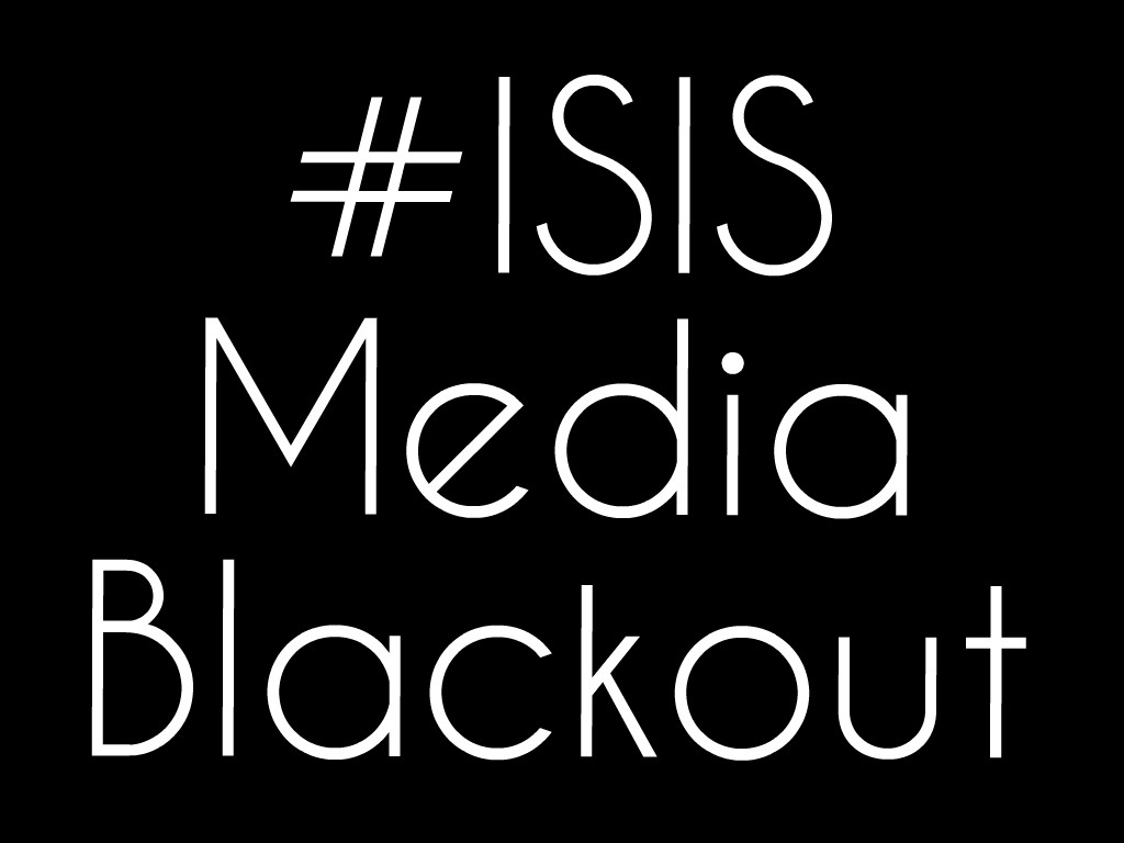 The hashtag #ISISMediaBlackout quickly circulated Twitter in hopes of limiting the propaganda created surrounding James Foley's death.