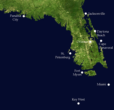 Rising Sea Levels CavsConnect - Florida sea level rise map