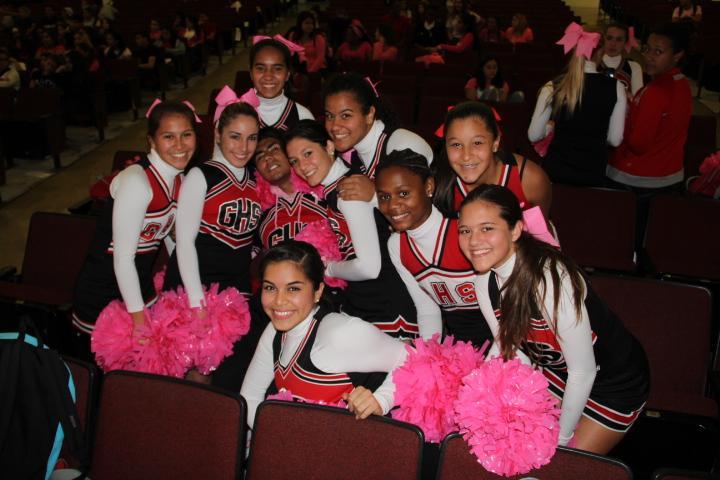 Pink Pep Rally