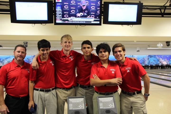 The boys bowling team.