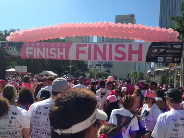 Thousands of people gathered at Downtown Miami to