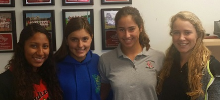 Athletes of the Week: Hanna Payne, Jesitt Perez, Hannah Cordes & Paloma Sanchez